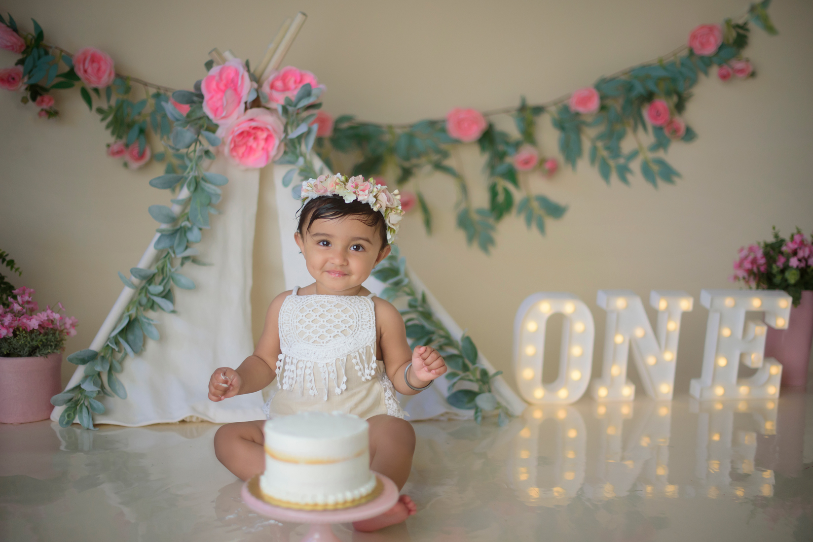 First birthday photographer Roseville CA