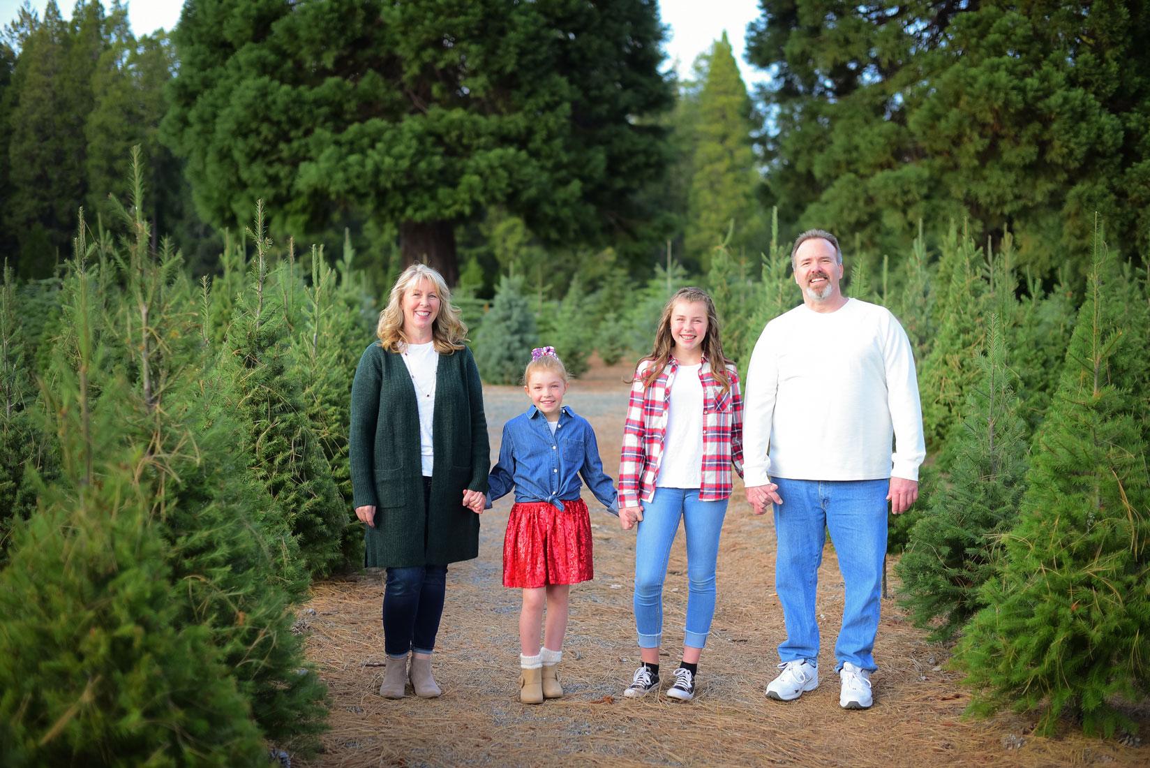 Family Photo Shoot On A Christmas Tree Farm Ashatalin Com Photography